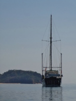 MOKEN at Anchor